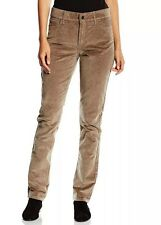 14 NEW NYDJ NOT YOUR DAUGHTER JEANS MARILYN STRAIGHT WALNUT BROWN CORDUROY