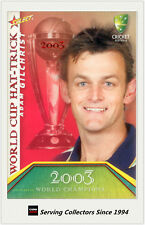 2007-08 Select Cricket Cards World Cup Hat Trick WSC18 Adam Gilchrist