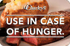 $25 / $50 O'Charley's Physical Gift Card - FREE Standard 1st Class Mail Delivery