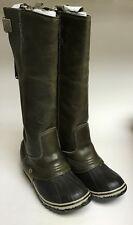 Sorel Womens Slimpack Riding Tall Nutmeg Winter Boot Size 5 Marked