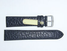 """DI-Modell Genuine Calfskin Leather 20 mm BLACK Watch Band Strap """"CAMEL"""""""