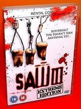 Saw 3 : Extreme Edition - DVD New & Sealed - Angus MacFadyen, Costas Mandylor