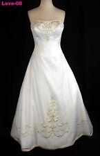 ORG $699 DaVinci Ivory 16 Formal Wedding Dress Bridal A-line Gown