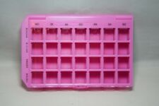Wochenspender 28 Fächer 7 Tage Pillendose Pillenbox Tablettendose Tablettenbox