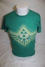 Zelda Triforce Men's Green T Shirt Size Small