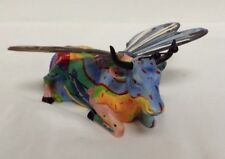 "COW PARADE MEDIUM  VERY RARE ""BUTTERFLY"" SAN ANTONIO Tx. U.S.A. 2004,  7289"