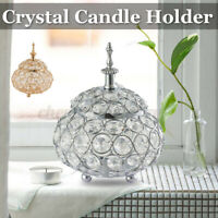 Crystal Candle Holder Votive Candelabra Wedding Dining Table Centerpiece New
