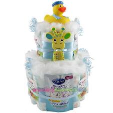 """★ Windeltorte Ente """"Kai-Uwe"""" ★ toll zur Geburt Babyparty Taufe Badeente"""