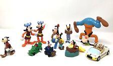 Vintage Walt Disney Productions Goofy Hard Plastic Figurines