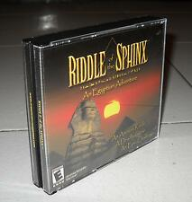 Gioco Pc RIDDLE OF THE SPINX An Egyptian adventure OTTIMO Mac