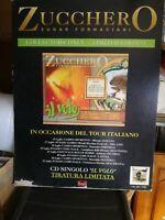 NO CD/LP - ZUCCHERO CARTONATO RIGIDO TOUR DEL 1996 - CM 48 X CM 68 LATINA