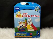 Vtech Bugsby System Max & Ruby The Froggy Prince with Cartridge