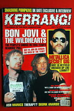Bon Jovi Wildhearts Cover Metallica Motorhead Tribute Lemmys 1996 Uk Magazine