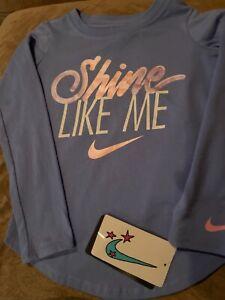NWT Girls Nike Shirt Size 4