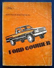 Werkstatthandbuch Shop Manual 1979 Ford Courier (USA) ORIGINAL