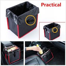 In-Car Wastebasket Litter Leak Proof Bin Wastebasket Container Trash Storage Box