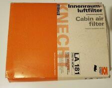 Pollen / Cabin Filter MAHLE LA181 1K0819644 1K0819644A 1K0819644B 1K1819644B