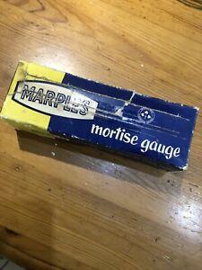 Vintage Marples Mortise Gauge In Box