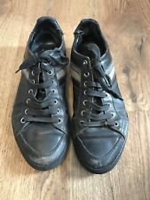 Dior Mens Leather Trainer Shoes Size UK 9