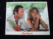 Cocktail lobby card # 4  Bryan Brown, Elisabeth Shue - 8 x 10 inches - (1988)