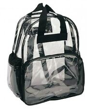Clear Backpack with Smooth Plastic Completely Transparent, New, Free Shipping