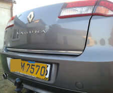 Renault LAGUNA MK III Hatchback 07-15 CHROME Rear Trim Strip Trunk Tuning Boot