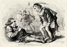 ANDREW JOHNSON IMPEACHMENT Shakespeare Romeo and Juliet Johnson as Mercutio 1868