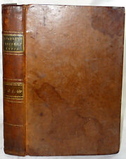 1791 Leather INDIA ASIA TRADE RELIGION ART Two Large Antique Foldout Maps
