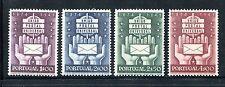Portugal 713-716, MH, UPU-75, 1949. Symbols. x21779