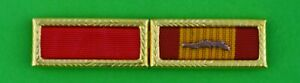 Army Meritorious Unit Commendation & Gallantry Cross Awards - Brass Holder