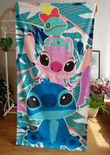 Disney new Lilo and Stitch Stitch Beach Towel Bath Towel 75cm*150Cm Large