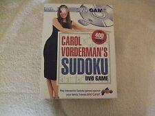 Carol Vorderman's Sudoku DVD Game.Drummond Park UK 2005