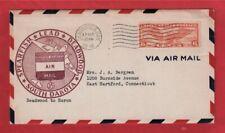 First Flight - Spearfish - Lead - Deadwood, South Dakota - Am-35 - 1948