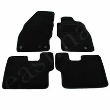 Vauxhall Corsa D & E 2006 onwards Tailored Carpet Car Mats Black 4pcs Floor Set
