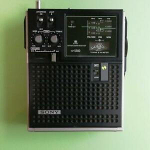 SONY Shortwave Radio ICF-5500 Sky sensor 3 band Receiver