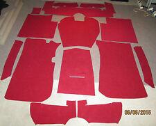 für Fiat 1500L; 1800; 2100; 2300 passender Innenraumteppich Velour 3 mm 14-tlg.