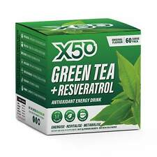 Tribeca Health - X50 Green Tea - Resveratrol Original - 60 Serve