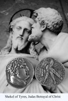 Shekel of Tyros Coin, Judas' 30 Pieces of Silver, Roman Coin *(1 Coin)*  (87-S)