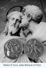 Shekel of Tyros Coin, Tyre, Judas 30 Pieces of Silver, Roman Coin 1 Coin  (87-S)