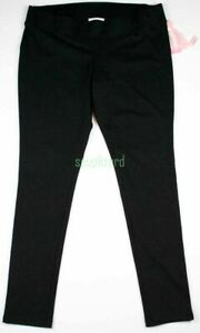 New Maternity Clothes Leggings Black Under Belly Ponte Pants NWT Size Medium