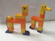 Lego Duplo 3512 Funny Giraffe RARE DISCONTINUED HTF COMPLETE!!!