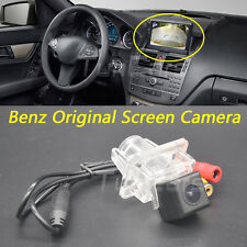 Car Rear View Camera for Mercedes Benz C E W204 W212 W207 C207 Original Screen