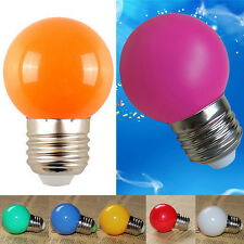 3W Colorful E27 SMD 2835 Socket LED Light Bulbs Globe Lamp Home Bar Shop Decor