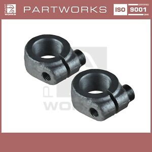Clamping Nut Hub for Porsche 911 For G '70-' 89 924S 944 928 968 Front 2X