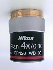 4X Nikon Microscope Objective