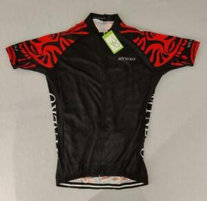 NEW Myneko Men's Cycling Full-Zip Jersey Size LARGE