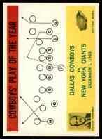 1964 Philadelphia #56 Tom Landry Dallas Cowboys B
