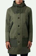 Pretty Green Long Parkas Hooded Coats & Jackets for Men