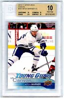 MITCH MARNER 2016-17 Upper Deck Young Guns Canvas Rookie Card RC BGS 10 PRISTINE