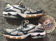 Mizuno Wave Bolt 5 Volleyball Shoes Women's Sz 9 Black Gray Silver Sneakers